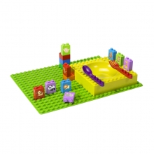 Kids learningbricks animals