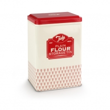Flour Storage Tin Plain Flour
