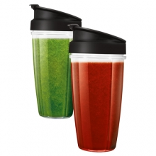 Smoothie Tritan flaskor 2-pack 0,8L (Till Nutrition Blender)