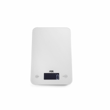 Slim white, digital kitchen scale, Max 5kg