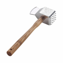 Aluminium three-faced tenderizer