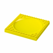 Kids plate yellow