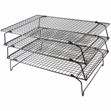Baking Three Tier coolingrack 40 x 25 cm