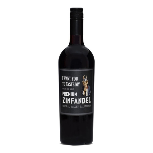 I want you to taste my PREMIUM Zinfandel, Central Valley Californien 14%